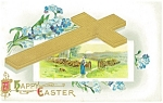 Click here to enlarge image and see more about item p10155: Easter Postcard A Sales Sample