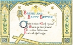 Click here to enlarge image and see more about item p10158: Easter Postcard  1910