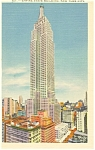 Empire State Bldg, New York City Postcard
