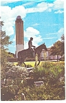 Great Will Rogers Coliseum Tower Fort Worth Postcard