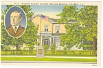 Click here to enlarge image and see more about item p10214: Columbia SC Woodrow Wilson Boyhood Home Postcard p10214
