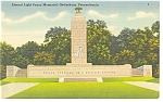 Click here to enlarge image and see more about item p10272: Gettysburg, PA, Peace Memorial Postcard