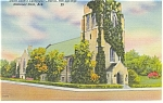 Click here to enlarge image and see more about item p10277: Hot Springs, AR, St Luke's Epicopal Church Postcard