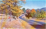 Autumn Road Scene Morrisville PA Pcard Nice