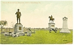 Click here to enlarge image and see more about item p10324: Gettysburg, PA,  Buford's Monument Postcard 1913