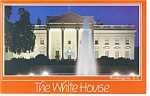 White House, North Front, Washington DC Postcard