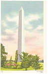 Washington Monument, Washington DC Postcard