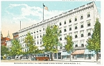 Metropolitan Hotel, Washington DC Postcard p10344