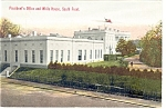 President's Office White House South Front Postcard