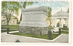 Click here to enlarge image and see more about item p10348: Tomb of the Unknown, Virginia Postcard
