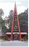 Click here to enlarge image and see more about item p10365: Silver Springs FL Prince of Peace Memorial  Postcard p10365