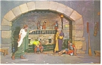 Click here to enlarge image and see more about item p10371: Silver Springs,FL Peter Denies Christ  Postcard