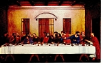Silver Springs,FL The Last Supper Postcard
