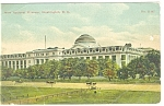 Washington DC, National Museum Postcard