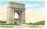 Valley Forge,PA, National Memorial Arch Postcard