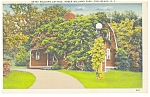 Providence RI Betsy Williams Cottage Linen Postcard  p10416