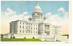 Providence,RI State Capitol Postcard