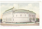 Washington DC, Corcoran Art Gallery Old Postcard