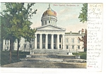 Montpelier VT State Capitol Undivided Back Postcard p10431