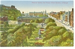 Edinburgh, Scotland, National Gallery Postcard