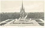 Click here to enlarge image and see more about item p10459: London, England, The Albert Memorial Postcard