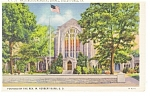 Valley Forge,PA, Washington Chapel Postcard