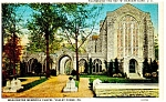 Valley Forge,PA, Washington Chapel Postcard ca 1930