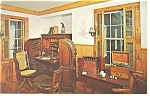 Click here to enlarge image and see more about item p10532: Mystic Seaport CT The Doctor s Office Postcard p10532