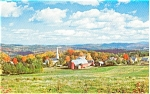 Peacham VT Village Scene Postcard