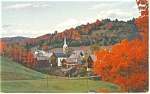 East Corinth,VT, in the Watts River Valley Postcard