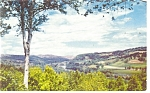 White River Valley, Vermont Postcard