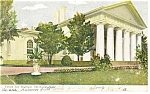 Click here to enlarge image and see more about item p10577: Arlington VA Custis Lee Mansion Postcard p10577 1906