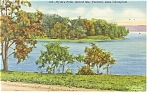 Lake Champlain,VT, Hyde's Point Postcard