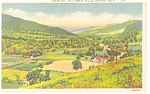 Bennington VT Pownal Valley Postcard p10597