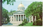 Montpelier, VT, State Capitol Postcard