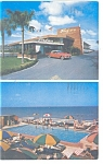 Miami Beach,FL, Tangiers Motel Postcard 1958
