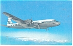 Click here to enlarge image and see more about item p10617: Pan Am Super-6 Clipper Airline Issue Postcard