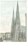 New York NY  St Patrick s Cathedral  Postcard  p10630 1911