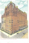 New York  NY Waldorf Astoria Hotel Postcard p10633