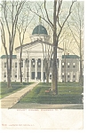 Click here to enlarge image and see more about item p10659: Hudson,NY, Court House Postcard