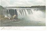 Niagara Falls, Horseshoe Falls Postcard PM 1907
