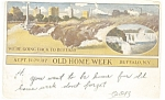 Buffalo NY Old Home Week Postcard p10681