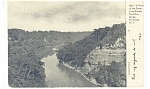 Rochester NY Gorge From Park Ave Bridge Postcard p10683 1906