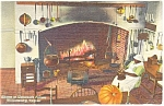 Willamsburg, VA, Governor's Palace Kitchen Postcard
