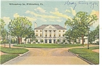 Willamsburg, VA, The Williamsburg Inn Postcard