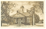 Willamsburg, VA, Old Court House Postcard