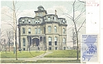 Click here to enlarge image and see more about item p10719: Elizabeth NJ Battin High School Postcard p10719