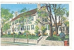 Winchester, VA, General Morgan's Home Postcard