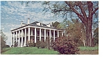 Natchez MS Dunleith AMOCO Oil Postcard p10755