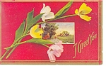 I Greet You Vintage Postcard 1911
